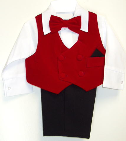 baby or toddler boys holiday suit