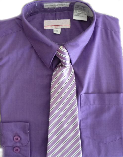 Boys purple dress shirt for Ties that go with purple shirts