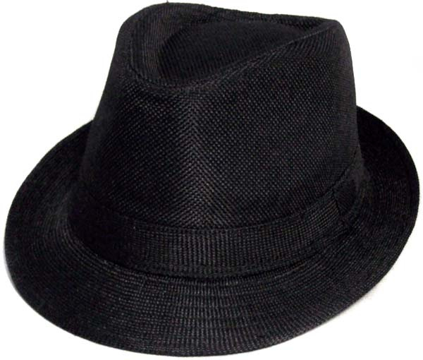 0db90360 Boys Black Fedora Hat