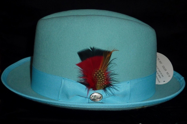 f991b40a Baby Blue Turquoise Hat for Boys