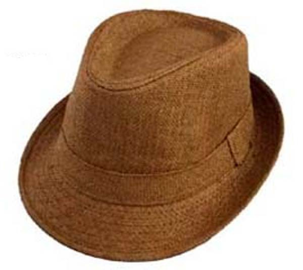 Boys Light Brown Fedora Hat. View Images 078959553