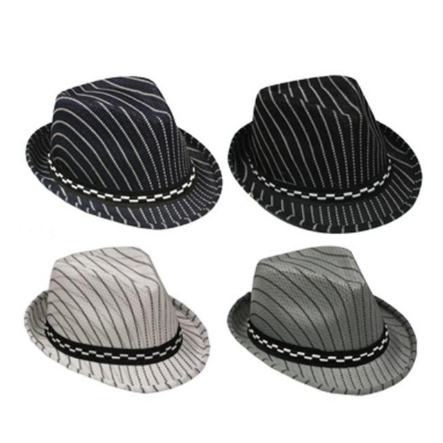 Boys Striped Fedora Hats. View Images 09fe72e11f2