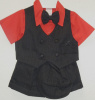 Babies Red Short Suit