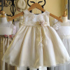 Champagne Baby Dress