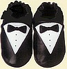 Tuxedo Shoes for Baby