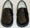 Toddlers Black Step In Shoe