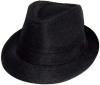 Boys Black Fedora Hat